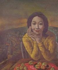 女人像 by deng jianjin