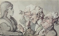 the antiquaries by thomas rowlandson
