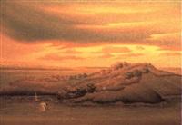 silhouette dans l'ile by jean-louis sénatus