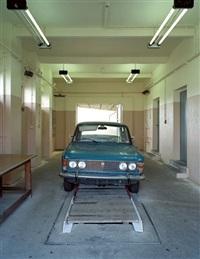 wagenkontrolle, grenzübergang marienborn stasi-secret rooms by daniel and geo fuchs