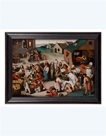 misericordia (+ 6 others; 7 works) by pieter brueghel the younger