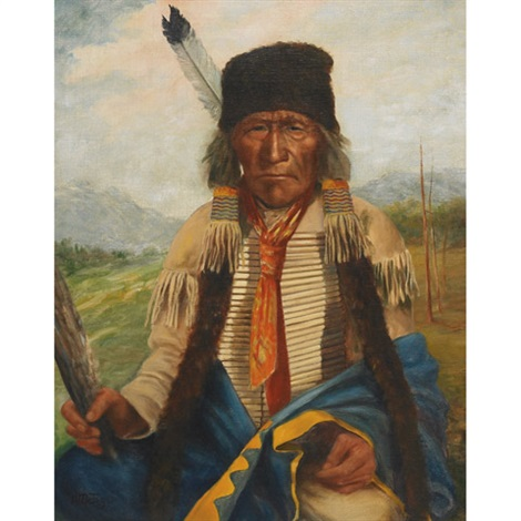 sioux indian black hills south dakota by henry metzger