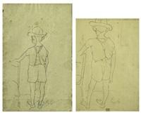 senza titolo (+ senza titolo; 2 works) by rinaldo pigola