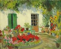 le jardin fleuri by rené enard