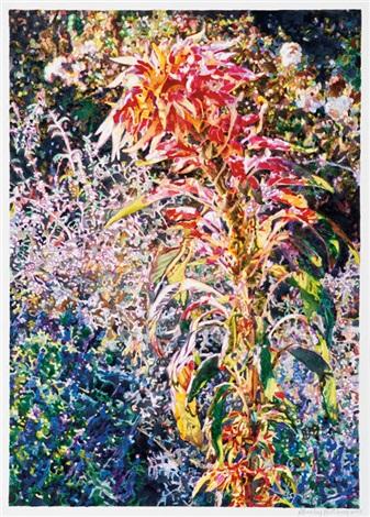 Layered Garden 2, Huntington Gardens By Shirley Pettibone
