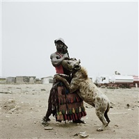 abdullahi mohammed with mainasara, ogere-remo, nigeria from gadawan kura - the hyena men ii by pieter hugo