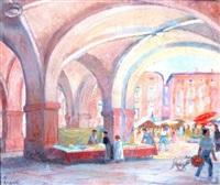les arcades à montauban by louis françois cabanes