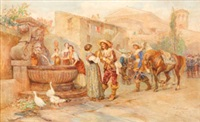 street scene, rome by publio de tommasi