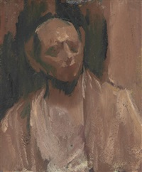 self-portrait by david bomberg