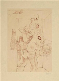 à sade (bk w/10 works) by hans bellmer