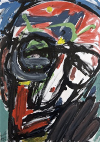 head vii homage to patrick kavanagh by michael kane