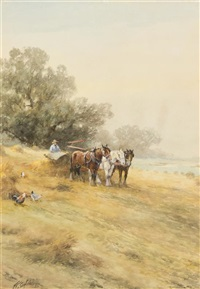 ploughing the field by frank f. english