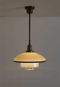 titan ceiling light by c.f. otto müller