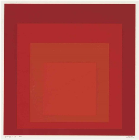 josef albers honors the hirschorn museum and sculpture garden (set of 2) by josef albers