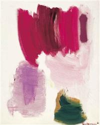 delirious pink by hans hofmann