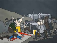 the third of may after goya by robert ballagh