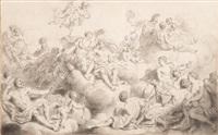 assemblée des dieux by louis-philippe boitard