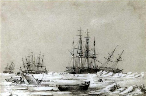 the franklin search expedition wintering in the arctic 1850 2 works by george francis mcdougall