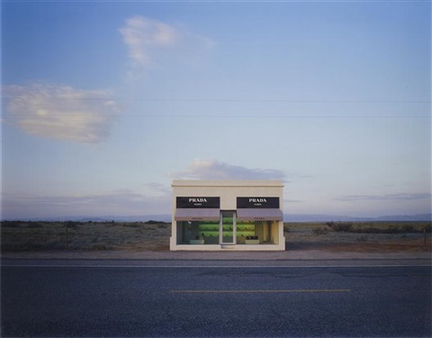 untitled prada marfa by elmgreen dragset