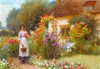 tending the roses by william affleck