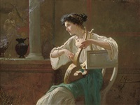 a pompeiian lullaby by ettore forti