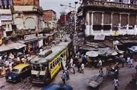 calcutta tram, india by steve mccurry