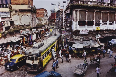 calcutta tram india by steve mccurry
