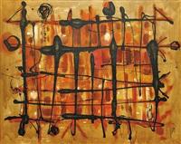 černá s oranžovou by richard fremund