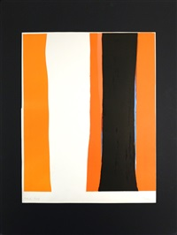 orange and black by cleve gray