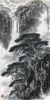 泰山松泉 by liu baochun
