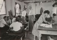 camp de réfugiés israéliens, israël by robert capa