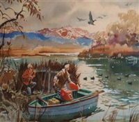 duck hunting by john pike