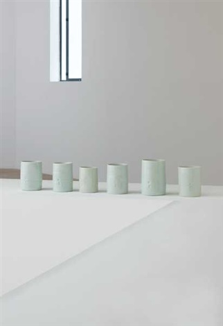 cylinders (set of 6) by edmund de waal
