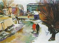 street scene by grigori azizyan