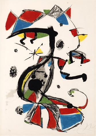 festa major by joan miró