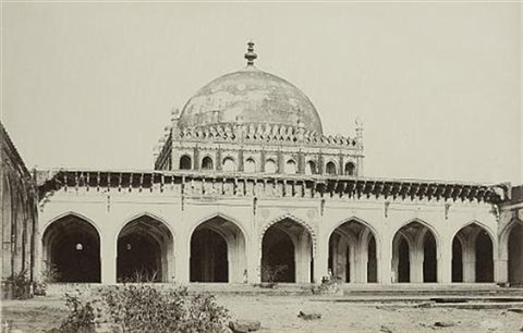 the jumma mosque from the courtyard bijapur by thomas biggs