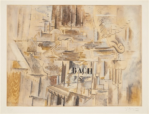 hommage à j.-s. bach by georges braque