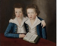portrait of archibald and murdoch maclaine (1777-1861 & 1806) by scottish school (18)
