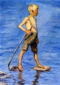 poika rannalla by maria wiik