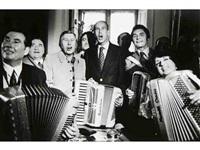 valéry giscard d'estaing à l'accordéon, festival de l'accordéon, enghien les bains by daniel simon