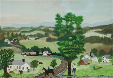 vermont by grandma moses