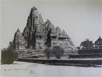 le temple de khajuraho by patrice serres