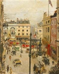 fleet street by thomas cantrell dugdale