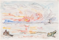 sunset by ivo hauptmann
