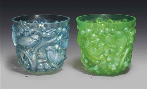 avallon vase by rené lalique