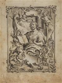 der heilige matthäus evangelist by vitus felix rigl