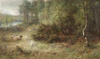landschaft mit schafen by joseph denovan adam