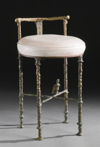 lharpie stool by diego giacometti