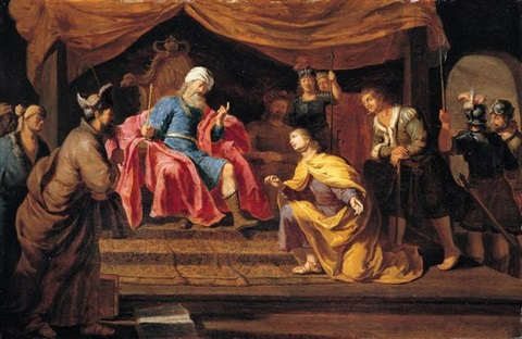 joseph interpreting pharaohs dreams by philip gyselaer