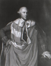 portrait of a gentleman by john greenhill